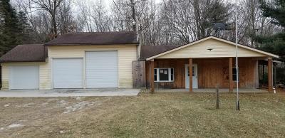 Edmore Single Family Home For Sale: 4448 Tamarack Road
