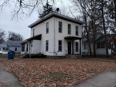 Single Family Home For Sale: 315 E Grove Street