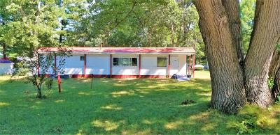 Mecosta MI Single Family Home For Sale: $20,000