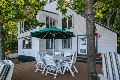 Saugatuck, Douglas Single Family Home For Sale: 570 Shorewood Drive