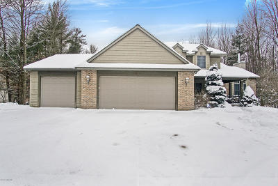 Muskegon County, Newaygo County, Oceana County, Ottawa County Single Family Home For Sale: 6419 Boulder Drive