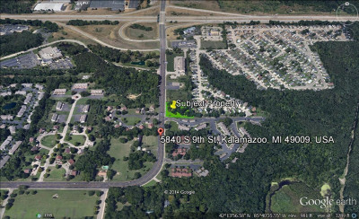 Berrien County, Branch County, Calhoun County, Cass County, Hillsdale County, Jackson County, Kalamazoo County, Van Buren County, St. Joseph County Residential Lots & Land For Sale: 5840 S 9th Street