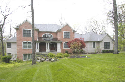 Berrien County, Branch County, Calhoun County, Cass County, Hillsdale County, Jackson County, Kalamazoo County, St. Joseph County, Van Buren County Single Family Home For Sale: 6311 East Bay Lane