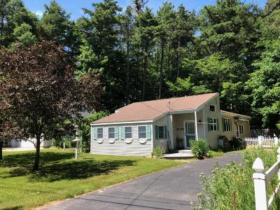 Manistee Single Family Home For Sale: 160 W Piney Road