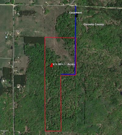 Osceola County Residential Lots & Land For Sale: V/L 7 Mile Road