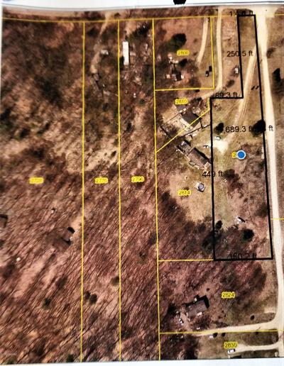 Allegan County, Barry County, Clinton County, Eaton County, Gratiot County, Ingham County, Ionia County, Isabella County, Kent County, Mecosta County, Montcalm County, Muskegon County, Newaygo County, Oceana County, Ottawa County Residential Lots & Land For Sale: 2820 19 Mile Road NE