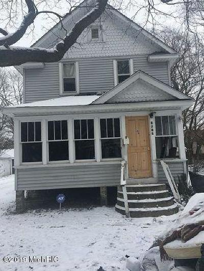 Kalamazoo Single Family Home For Sale: 1517 James Street