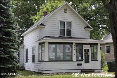Muskegon Multi Family Home For Sale: 989 W Forest Avenue
