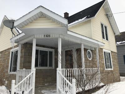 Manistee Single Family Home For Sale: 168 Lincoln Street