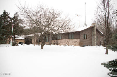 Mecosta County Single Family Home For Sale: 15076 Pierce Road