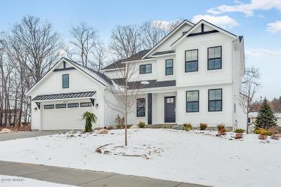 Rockford MI Single Family Home For Sale: $389,900