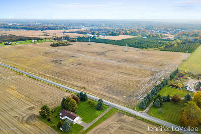 Clinton County, Gratiot County, Isabella County, Kent County, Mecosta County, Montcalm County, Muskegon County, Newaygo County, Oceana County, Ottawa County, Ionia County, Ingham County, Eaton County, Barry County, Allegan County Residential Lots & Land For Sale: 4458 Bristol Avenue NW