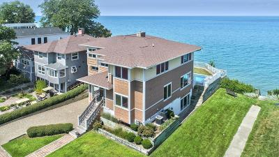 Harbert, Lakeside, New Buffalo, Sawyer, Three Oaks, Union Pier Single Family Home For Sale: 46039 Lake View Avenue