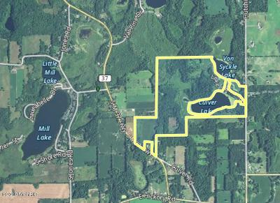 Clinton County, Gratiot County, Isabella County, Kent County, Mecosta County, Montcalm County, Muskegon County, Newaygo County, Oceana County, Ottawa County, Ionia County, Ingham County, Eaton County, Barry County, Allegan County Residential Lots & Land For Sale: 13890 M-37