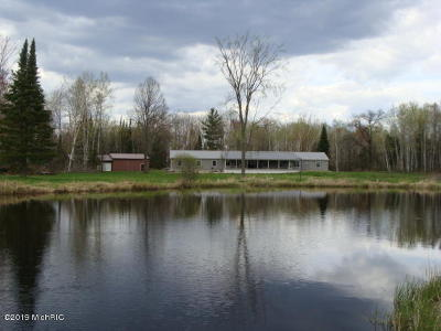 Benzie County, Charlevoix County, Clare County, Emmet County, Grand Traverse County, Kalkaska County, Lake County, Leelanau County, Manistee County, Mason County, Missaukee County, Osceola County, Roscommon County, Wexford County Single Family Home For Sale: 2100 Bailey Dr