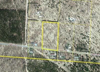 Benzie County, Charlevoix County, Clare County, Emmet County, Grand Traverse County, Kalkaska County, Lake County, Leelanau County, Manistee County, Mason County, Missaukee County, Osceola County, Roscommon County, Wexford County Residential Lots & Land For Sale: 5096 S County Line Road