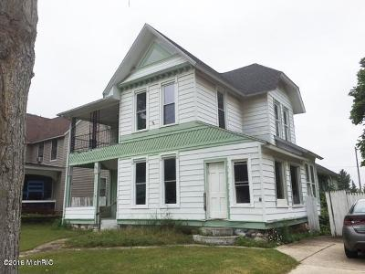 Reed City Single Family Home For Sale: 218 W Slosson Avenue