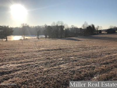 Allegan County, Barry County, Clinton County, Eaton County, Gratiot County, Ingham County, Ionia County, Isabella County, Kent County, Mecosta County, Montcalm County, Muskegon County, Newaygo County, Oceana County, Ottawa County Residential Lots & Land For Sale: Parcel B Loehers Landing