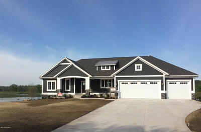 Hudsonville MI Single Family Home For Sale: $599,900