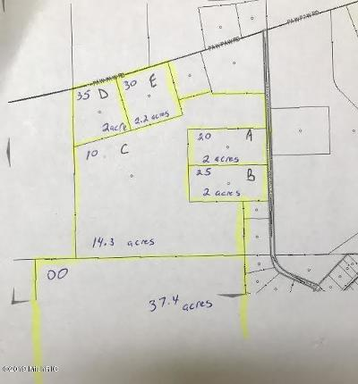 Berrien County, Branch County, Calhoun County, Cass County, Hillsdale County, Jackson County, Kalamazoo County, St. Joseph County, Van Buren County Residential Lots & Land For Sale: E Paw Paw Road