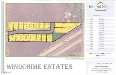 Comstock Park Residential Lots & Land For Sale: 458 Windchime Dr. #15