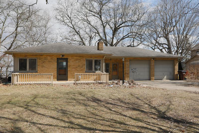 Single Family Home For Sale: 15555 Portage Road