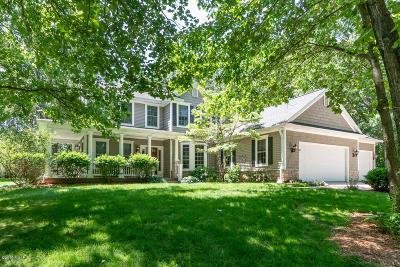 Kalamazoo Single Family Home For Sale: 9085 Montezuma Avenue