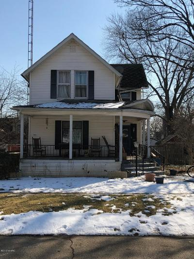 Marshall Single Family Home For Sale: 125 Hart Street