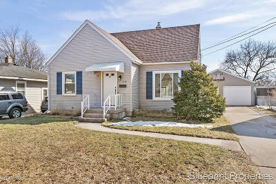 Grand Rapids Single Family Home For Sale: 1254 Oaklawn Street NE