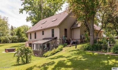 Hillsdale County Single Family Home For Sale: 11253 Almon Pt Point