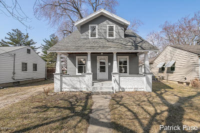 Rockford MI Single Family Home For Sale: $159,900