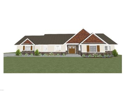 Single Family Home For Sale: Lot 5 Fieldview