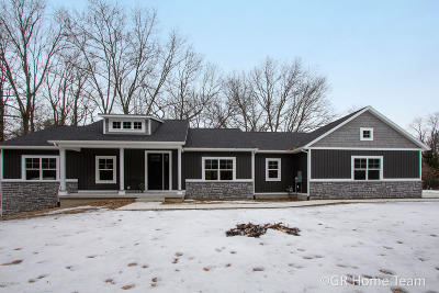 Single Family Home For Sale: 10800 Crawford Lake Trail