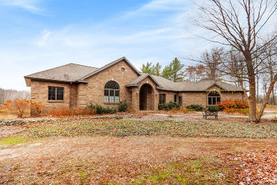 West Olive Single Family Home For Sale: 15524 Blue Fox Run