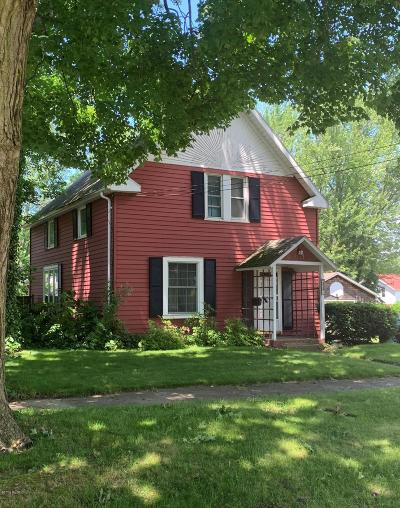 South Haven MI Single Family Home Active Backup: $154,900