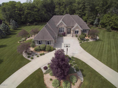 Kalamazoo Single Family Home For Sale: 8545 Mountain Pine Lane