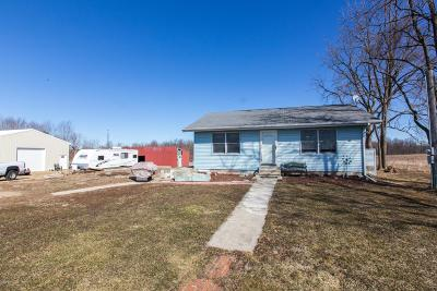 Coldwater Single Family Home Active Contingent: 586 Dayburg Road