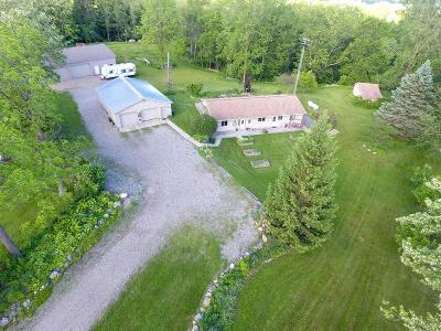 Branch County, Hillsdale County Single Family Home For Sale: 2925 Waldron Road