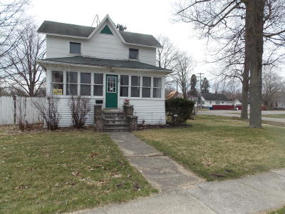 Bronson Single Family Home For Sale: 245 W Chicago Street