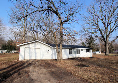 White Cloud Single Family Home For Sale: 881 S Ransom Road