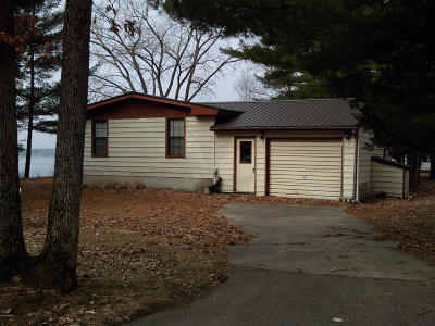 Newaygo Single Family Home For Sale: 6003 S Croton - Hardy Drive