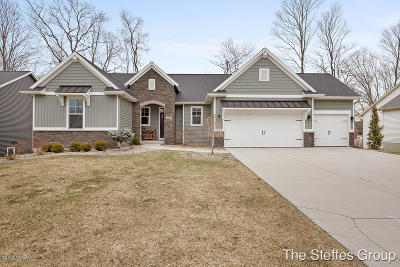 Hudsonville Single Family Home For Sale: 4269 Unity Drive