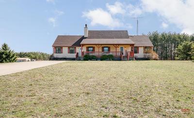 Muskegon County, Newaygo County, Oceana County, Ottawa County Single Family Home For Sale: 4542 Brooks Road