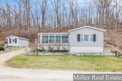 Dowling Single Family Home For Sale: 2381 Bristol Lake Road