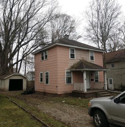 Kalamazoo Single Family Home For Sale: 514 Vernon Street