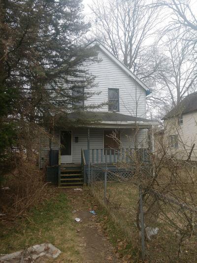 Kalamazoo Single Family Home For Sale: 1412 E Stockbridge Avenue