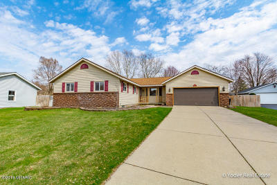 Jenison Single Family Home For Sale: 7458 Brower Lane