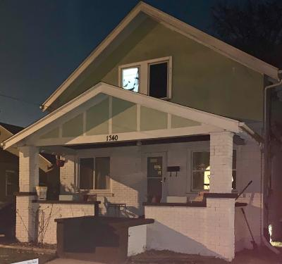 Grand Rapids Single Family Home For Sale: 1340 Walker Avenue NW