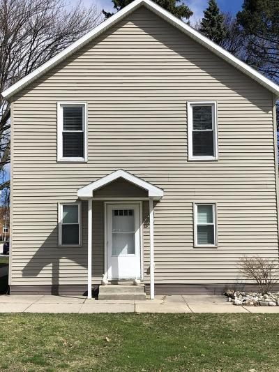 Benzie County, Charlevoix County, Clare County, Emmet County, Grand Traverse County, Kalkaska County, Lake County, Leelanau County, Manistee County, Mason County, Missaukee County, Osceola County, Roscommon County, Wexford County Multi Family Home For Sale: 201 E Danaher Street