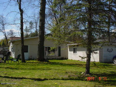 Clare County Single Family Home For Sale: 4275 Oak Flats Road